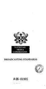 Broadcasting standards