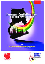 Contemporary constitutional issues in our multiparty democracy