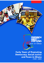 Forty years of promoting democracy, social justice and peace in Ghana