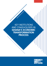 Key institutions and stakeholders in Ghana's economic transformation process